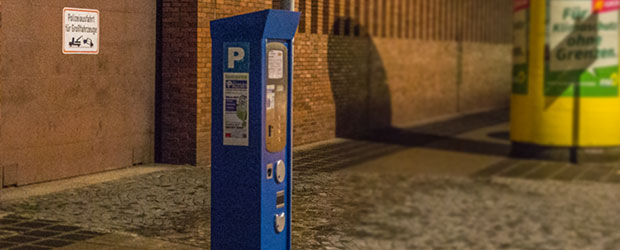 Parkautomat Schlotfegergasse Nürnberg