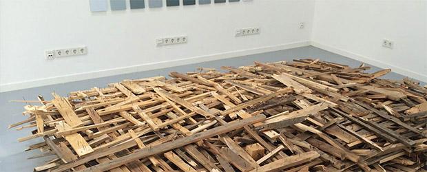 Installation Jahresausstellung AdBK Nürnberg