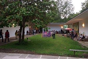 Innenhof Akademie Nürnberg Sommerfest