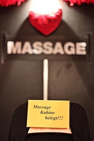 Massagekabine Erotikmesse