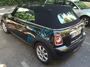 Carsharing Drivenow BMW Mini