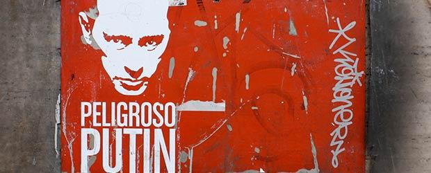 Streetart Putin