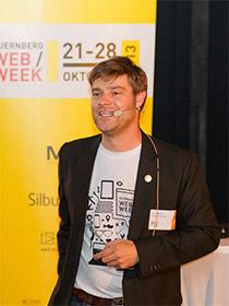 Benno Bartels während seines Vortrages