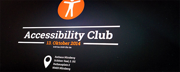 Webseite 2. Accessibility Club