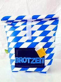 Lunchbag BROTZEIT von LiNi aus Fürth