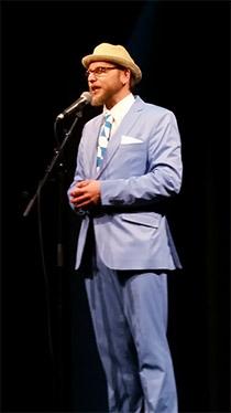 Michael Jakob als Moderator