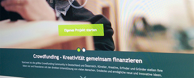 Crowdfunding mit Start Next