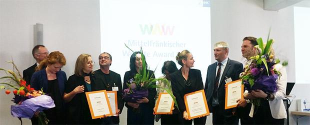 Die Preisträger und Veranstalter des IHK-Website Award