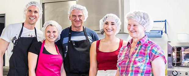 Team der Donutfactory