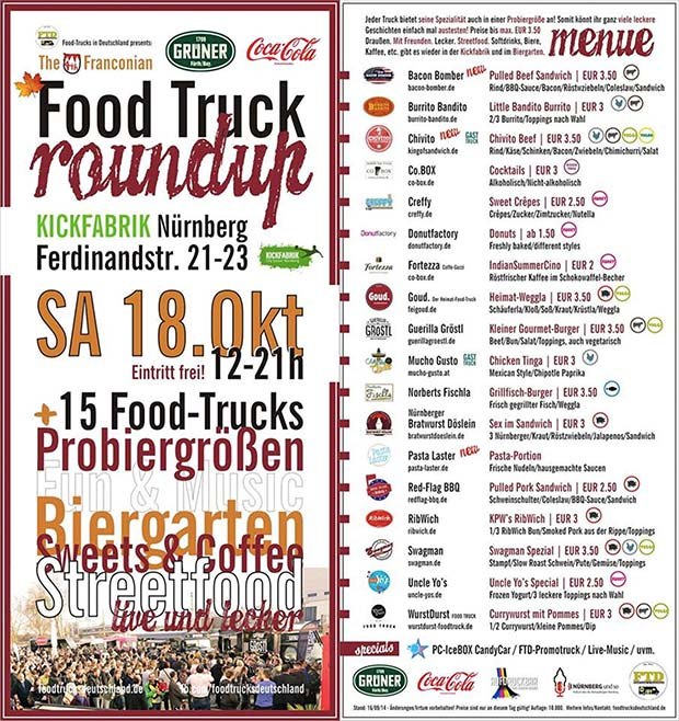 Flyer 4. Food Truck RoundUp
