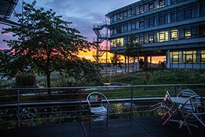 Webmontag Franken Sonnenuntergang