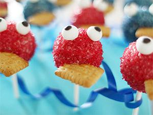 Kreatives Cake Pop Motiv