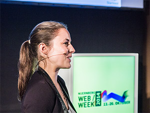 Theresa Koppler zur Nürnberg Web Week 2014