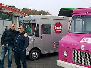 Markus und Klaus am Food Truck