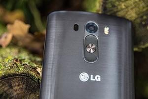 Rückseite LG G3 Smartphone