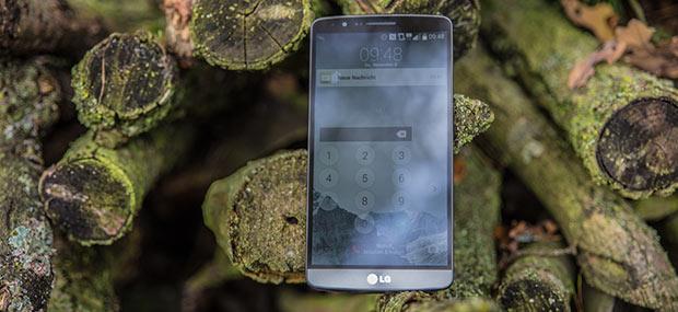 LG G3 Smartphone Frontansicht