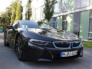 BMW i8 Frontalansicht