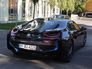 BMW i8 Heckansicht