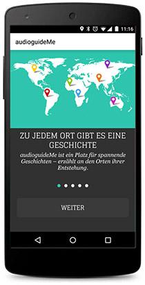 App AudioGuideMe