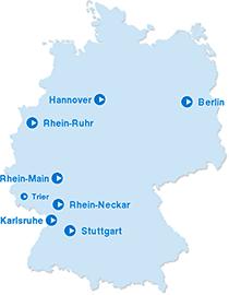 Angebot von Stadtmobil in Deutschland