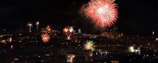 Feuerwerk Perugia