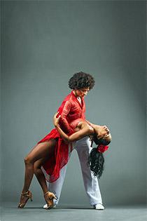 Chica, eine kubanische Tänzerin