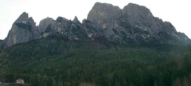 Bergkette Dolomiten
