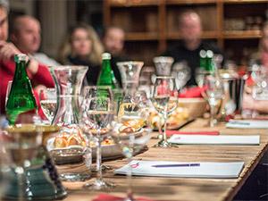 Wein Stoff Seminar Teilnehmer