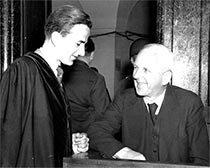Richard von Weizsäcker und Ernst von Weizsäcker