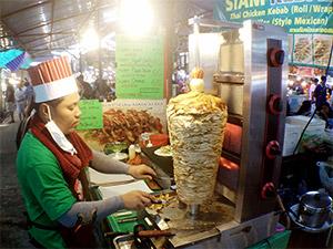Döner Kebab in Phuket