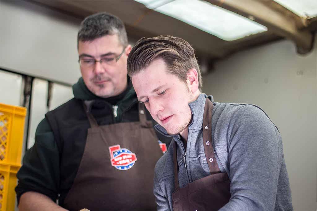 Erstes Foodtruck RoundUp ON TOUR Schwabach RedFlag BBQ