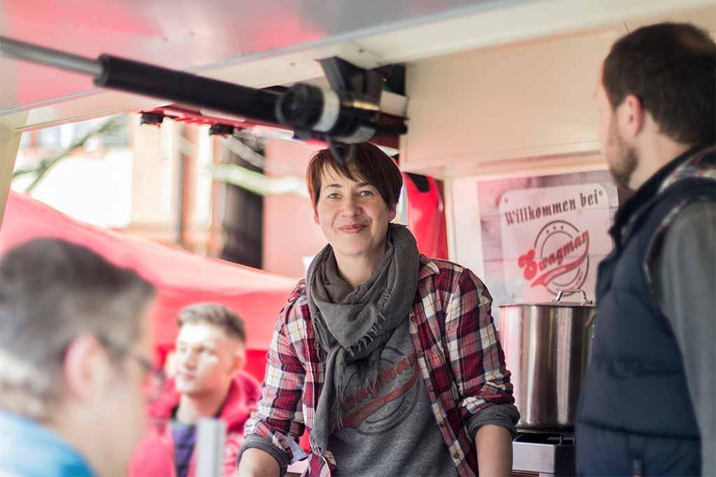 Erstes Foodtruck RoundUp ON TOUR Schwabach Andrea Übelhack