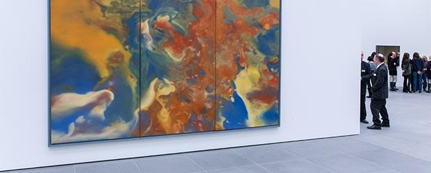 Ausschnitt von Gerhard Richter