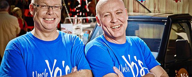 """Michael Schmidt und Markus Schwartz vom Foodtruck """"Uncle Yo's"""""""