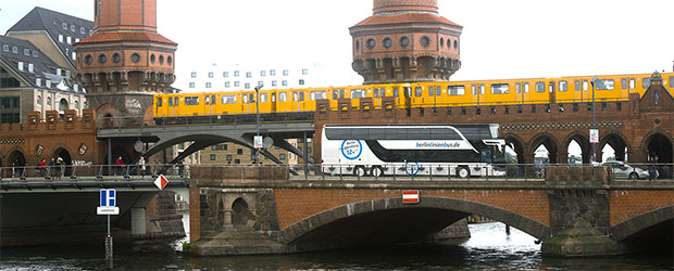 Berlinlinienbus im Test - Stettiner Tor