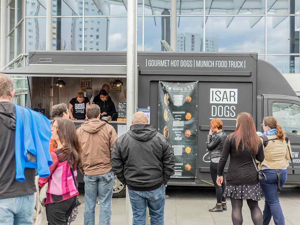 Foodtruck ISAR DOGS