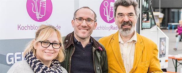 Teamfoto KochblogRadio