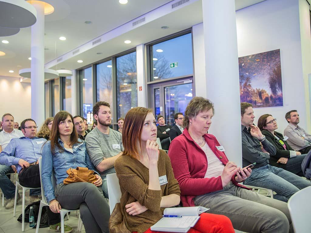 Publikum Startup Nacht