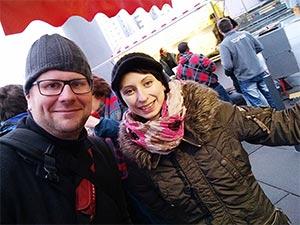 Markus Wolf und Isabella Hener