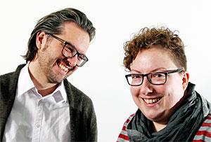 Alexander Roth und Susanne Salampasidis