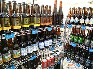 Craft Bier Auswahl