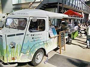 Sushi Truck Old Spitalfields Market