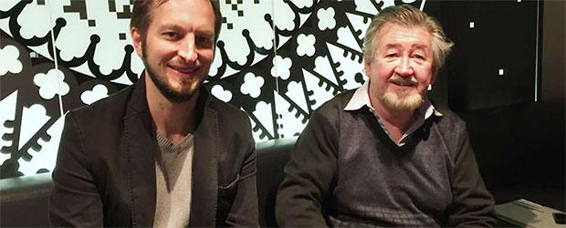 Benjamin Jungert zusammen mit Nick Maley