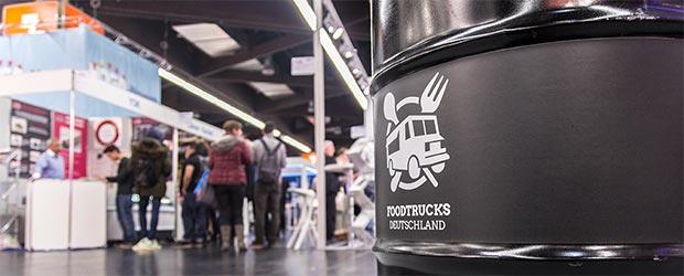Foodtruck Klächens in Berlin im Einsatz