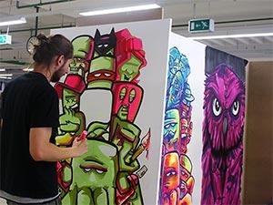 Streetart Gemälde