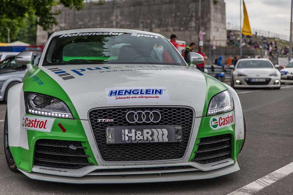 Frontansicht Audi TT-RS