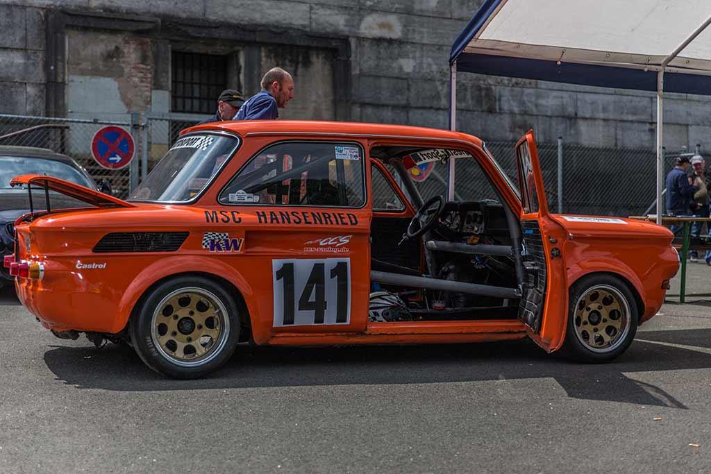 NSU TT orange