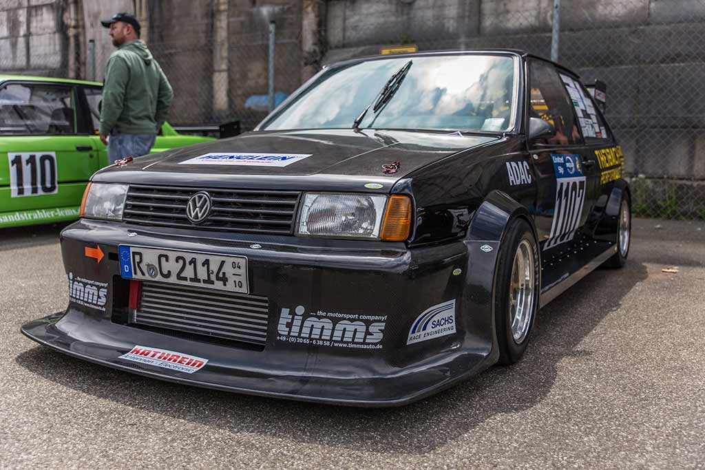 Frontansicht VW Polo