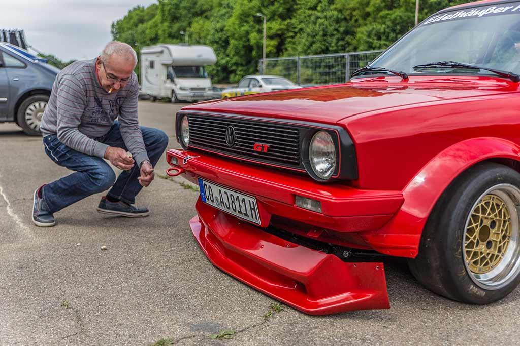Befestigung Frontschürze VW Polo GT