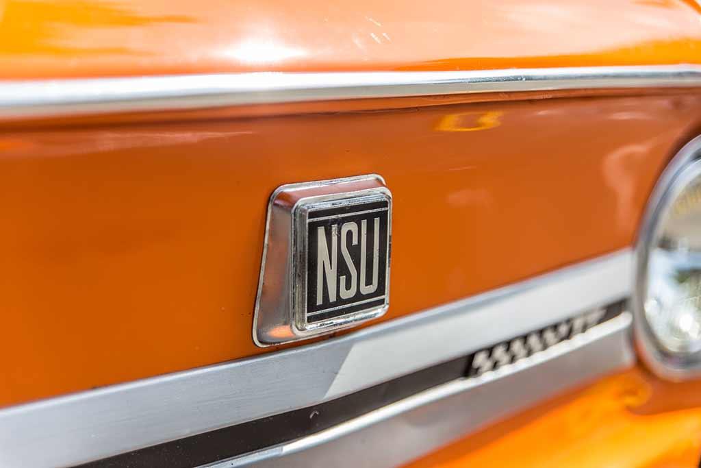Markenemblem NSU Detailansicht
